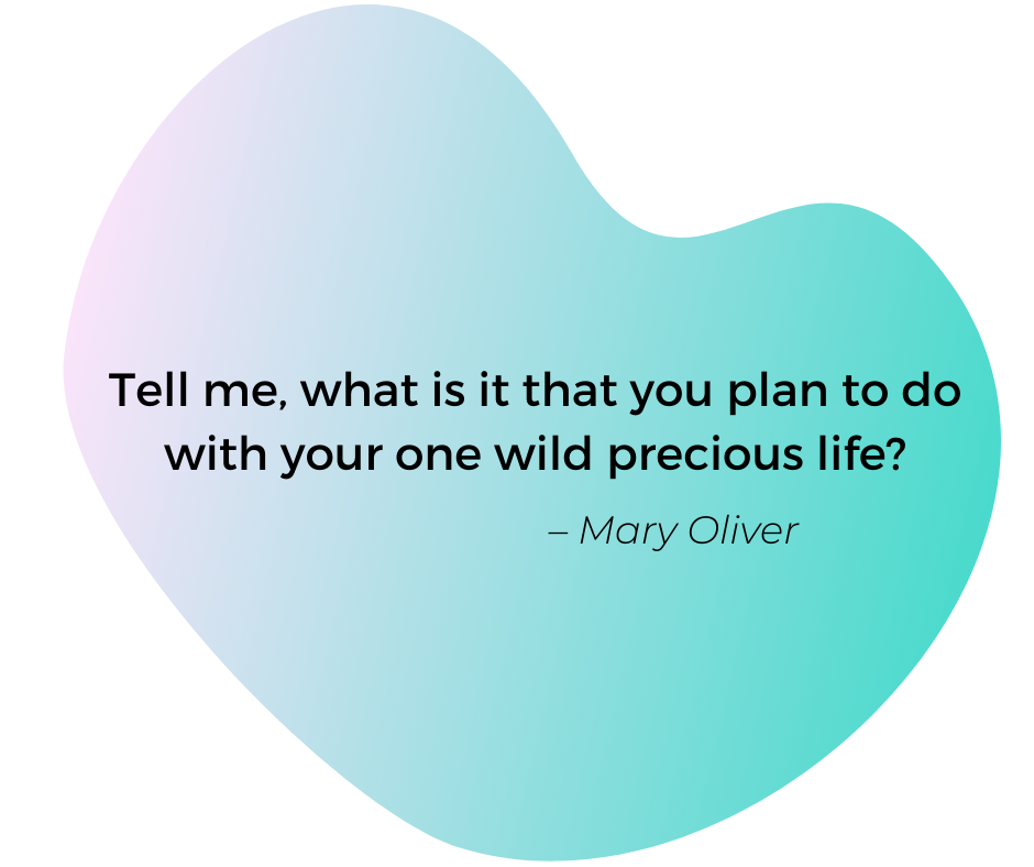 Quote by Mary Oliver: Tell me, what is it that you plan to do with your one wild precious life?